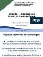 Auditoria e Controladoria_Unidade I_IntroduÃ_Ã_o Ao Estudo Do Controle Estatal