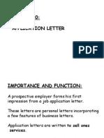 Job Letter