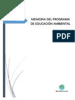 Educacion Ambiental Memoria