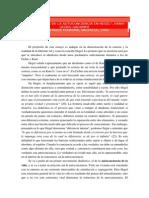 """Apuntes de """"La dialéctica de la autoconciencia en Hegel"""", Hans-Georg Gadamer"""