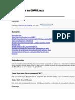 Instalar Java en GNU