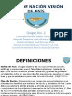 Presentacion Plan de Nacion Grupo Dos