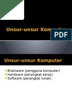 Unsur-unsur Komputer