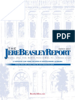 The Jere Beasley Report, Mar. 2007