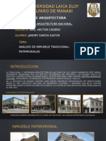 Analisis de Vivienda Patrimonial Manabi-ecuador