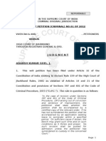 Jharkhand Rules Upheld - Judgment