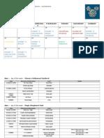 Walt Disney World Planning Sheet