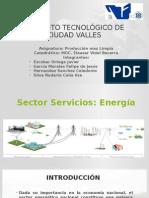 Presentacion Sector Servicios Energia
