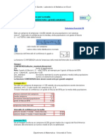Stima Dei Parametri