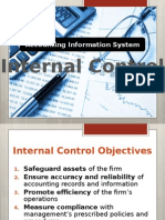 Accounting Information System (Internal Control)