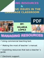 Managing resources Resources