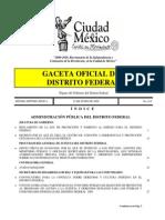 Decreto Por El Cual Se Crea El Centro de Atención a Emergencias y Protección Ciudadana de La Ciudad de México
