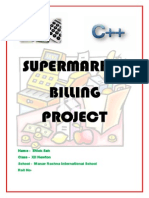 Supermarket Billing Project