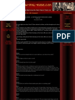 AXL ROSE & GNR Articles