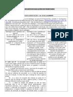 Quadro Detalhado de Fundamentos Das Ações Tributarias Com Os Respectivos Artigos