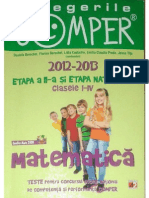 Carti Teste.comper.matematica.clasele.I IV Ed Paralela 45
