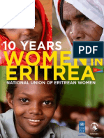 National Union of Eritrea Women 10 Year Report by UNDP