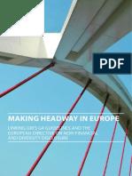 Guía GRI G4 EU Directiva Información No Financiera