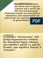 Historia de La Democracia
