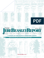 The Jere Beasley Report, Apr. 2007