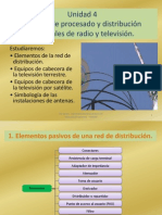 Equipos de Procesado y Distribución de Señales de Radio y Televisión