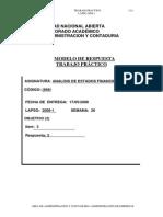 Análisis Estados Financieros - Practica