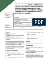 NBR 12232 - 1992 - Execução de Sistemas Fixos Automáticos de Proteção Contra Incêndio