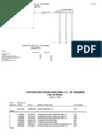 Modelo de Libro Conpromach Compras - Ventas