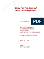 Affinity for the Damned Memoirs of a Blasphemer