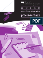 Guide Redaction Proces Verbaux