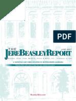 The Jere Beasley Report, Jun. 2007
