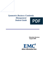 Symmetrix Business Continuity Management Student Guide