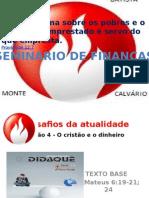 SEMINÁRIO FINAÇAS