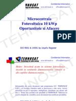 Microcentrala Fotovoltaica 10kWp Oportunitate