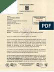 Carta FENALCO