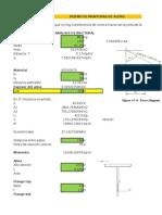 Diseño Monturas de Acero