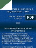 Funçoes da Adm Financeira