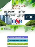 Sweetening Gas Processing