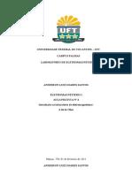 Relatório 4 EletromagnetismoFINAL(Anderson)