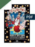 Rock n' Bowl Poster 2015