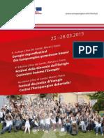 Festival Euregio della Gioventù 2015