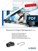 590099 Catalogue Sensors for Engine Management Incl Oxygen Sensors 4 0