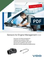 590099 Catalogue Sensors for Engine Management Incl Oxygen Sensors 4 0