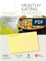 Healthy Eating Planner