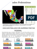 Descentralizacion Administrativa Federal