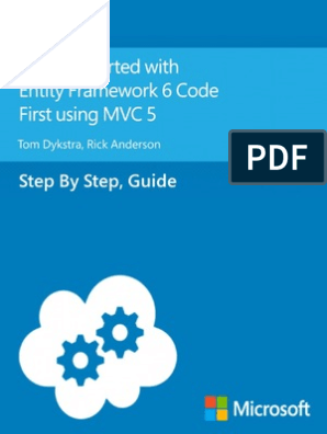 Getting Started With Entity Framework 6 Code First Using MVC