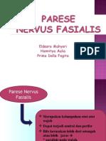 Parese Nervus Fasialis 1