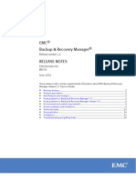 Docu53999 Backup and Recovery Manager Release 1.2 Release Notes