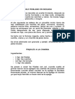 Chile Poblano en Nogada