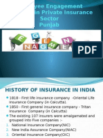 Employee Engagement Practices in Private Insurance Sector 1